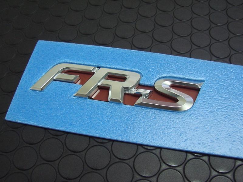 FR-S REAR EMBLEM(単品)