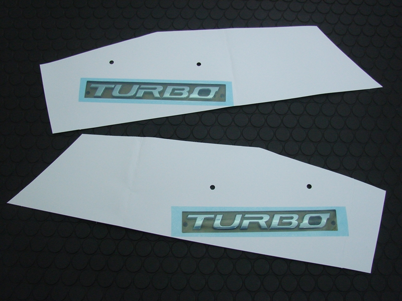 SIDE TURBO EMBLEM