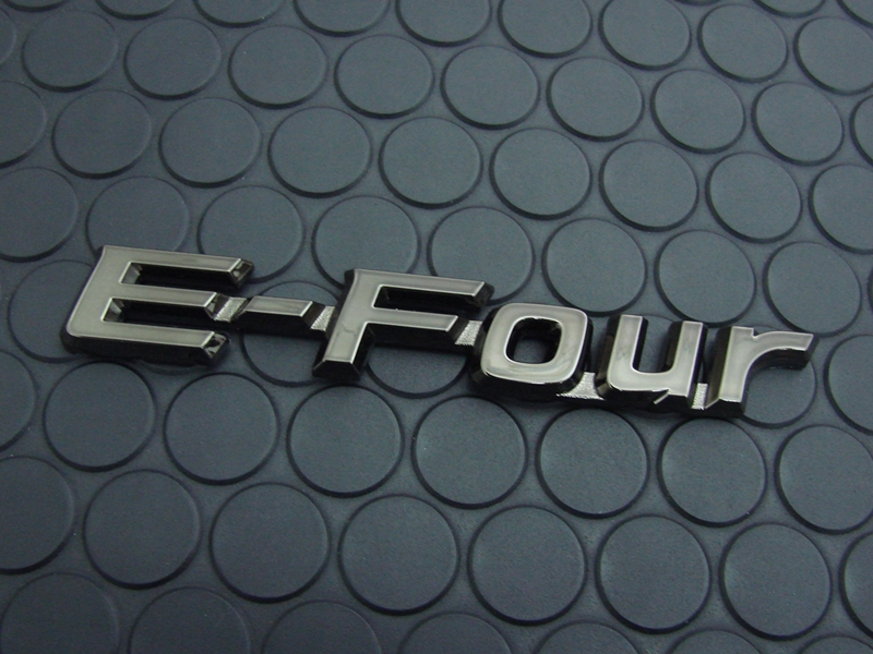 COLORED EMBLEM E-Four(単品)