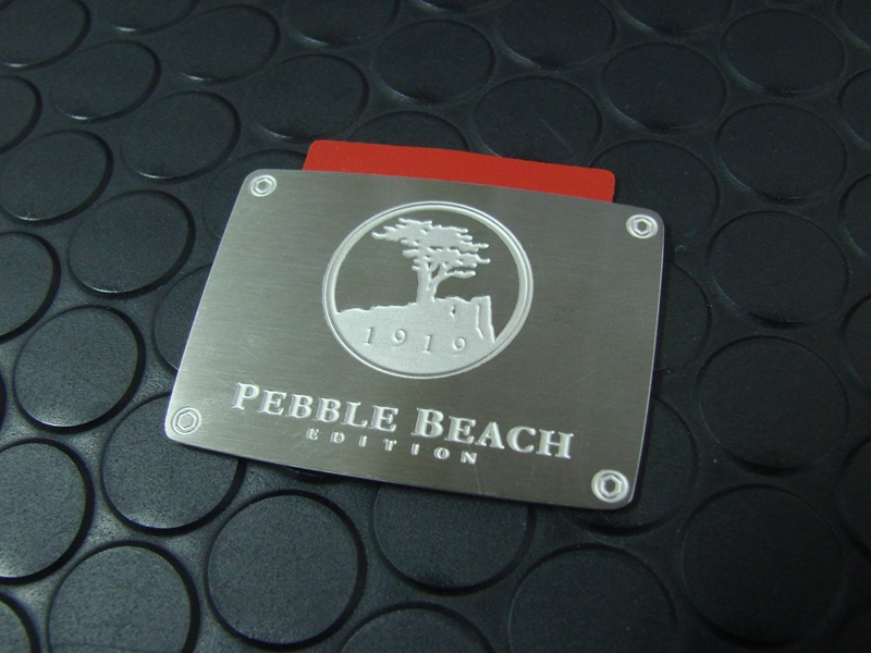 Pebble Beach EDITION EMBLEM