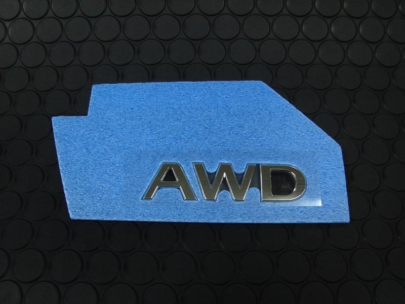 Q50 REAR AWD EMBLEM
