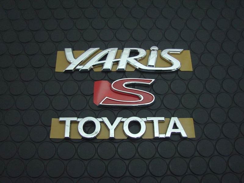 YARIS REAR EMBLEM SET