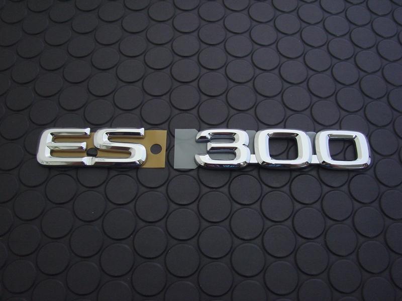 ES300 EMBLEM