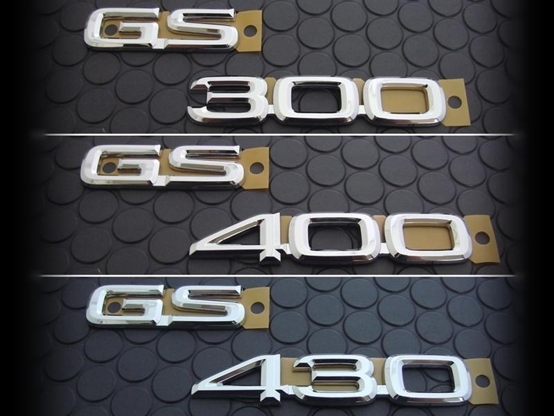 GS300/400/430 EMBLEM