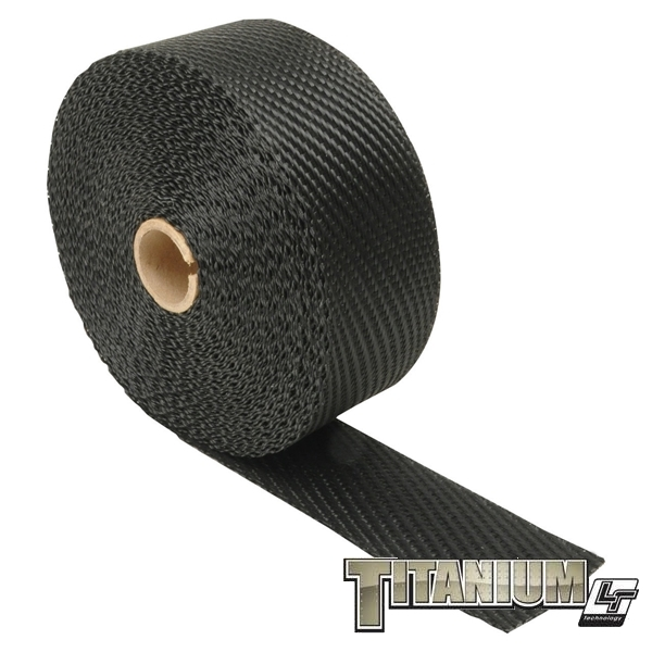 "EXHAUST WRAP BLACK TITANIUM #010003(2""x50')"