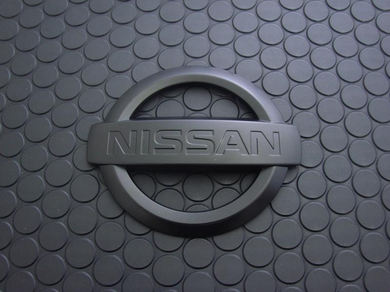 REAR NISSAN MARK(マットブラック)※B級品