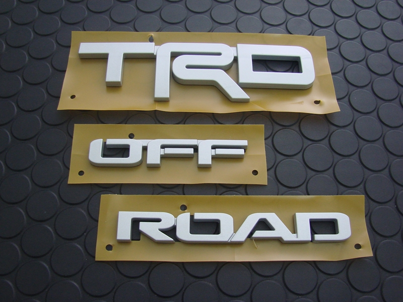 TRD OFF ROAD EMBLEM