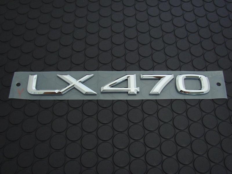 LX470 EMBLEM
