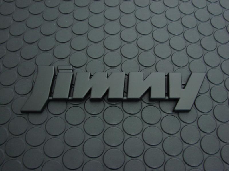 REAR「Jimny」EMBLEM(マットブラック)