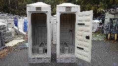 中古仮設トイレ 水洗兼用式
