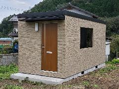 住居用ワンルームユニットハウス JL54-2型サイディング仕様