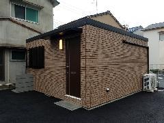 住居用ワンルームユニットハウス JL54-4型 サイディング仕様