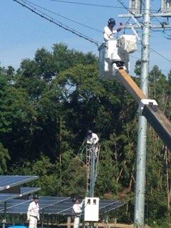 太陽光発電施設の設置