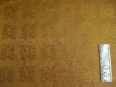 錦地・黄呂染・桐竹鳳凰【大】