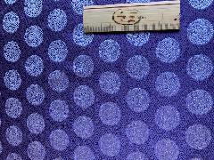 どんす 亀甲地に鳳凰丸【紫】