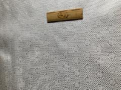どんす 市松に杢爪【白】