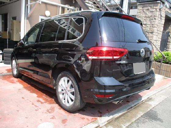 VW ワーゲン TOURAN トゥーラン ドア、リア鈑金塗装修理