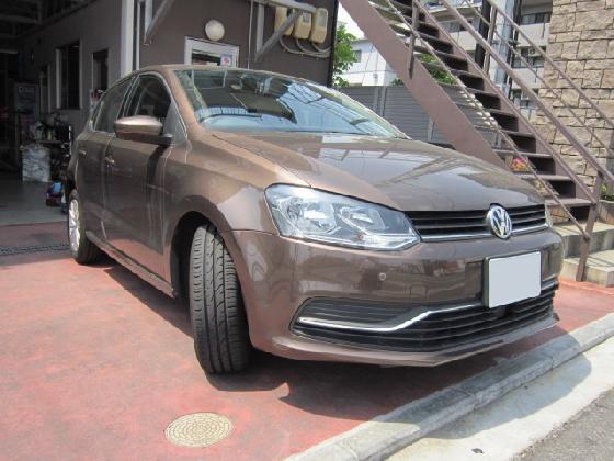 VW ワーゲン ポロ リアバンパー 施工例