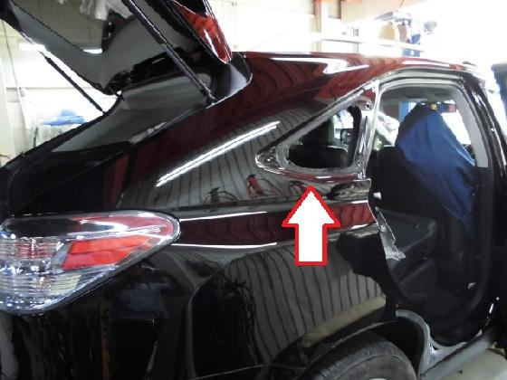 レクサス RX ドア フェンダー