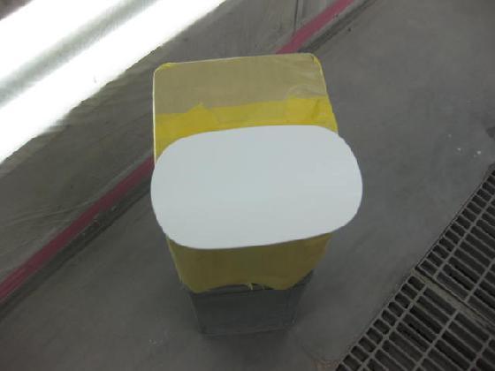 フューエルフラップ (給油口フタ) 塗装
