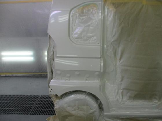 リアフェンダー 塗装後