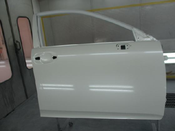 ドア フェンダー 塗装