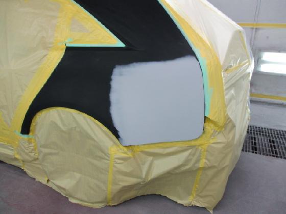 キャデラック CTS  塗装