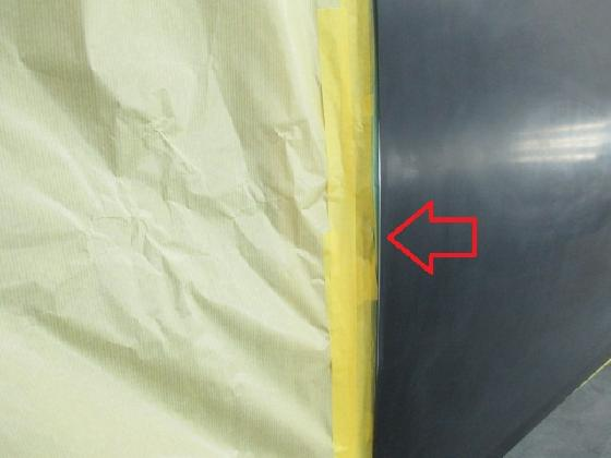 ドア カジリ 塗装