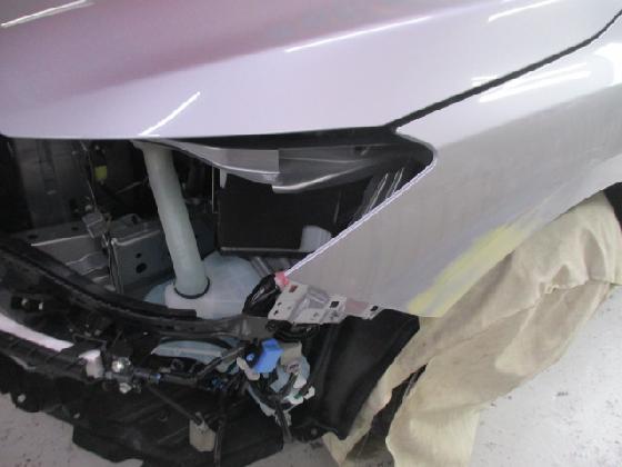 インプレッサ バンパー フェンダー 修理