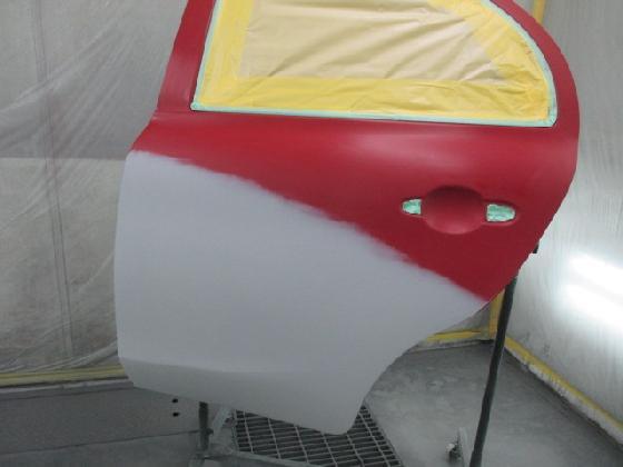 リアドア 塗装