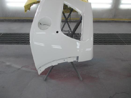 フロントバンパー 補修塗装