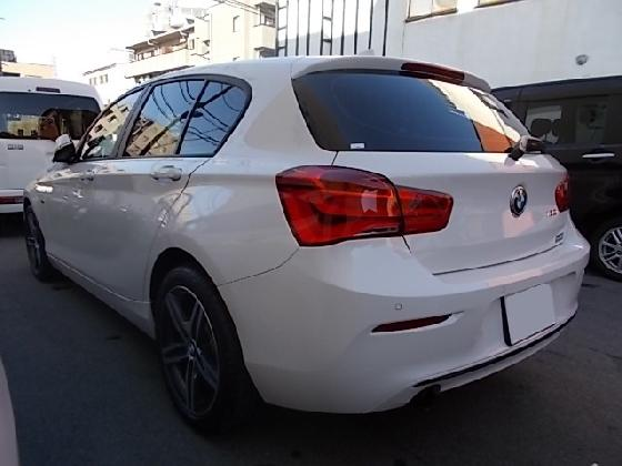 BMW 120i  修理完了 納車