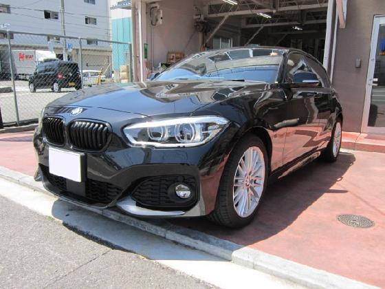 BMWの1シリーズ 118d Mスポーツの修理例です。