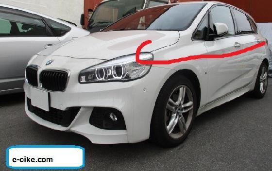 BMW2シリーズ イタズラキズ