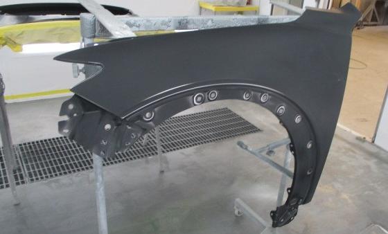 CX−3 フェンダー塗装