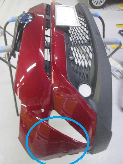 CH−Rのバンパー修理