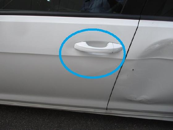 ワーゲン ドア修理