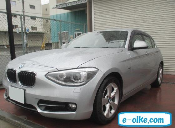 BMW 1シリーズ 板金塗装修理事例の紹介です