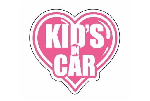 KID'S IN CAR ver.  Lサイズ【税抜800円】