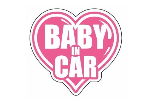 BABY IN CAR ver.  Mサイズ【税抜600円】