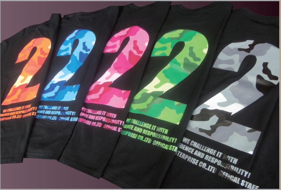 Tシャツ カラフル迷彩ver. 【税抜2800円】