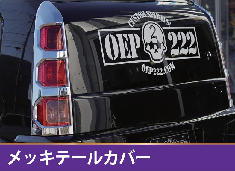 メッキテールカバー 【税抜35000円】RT