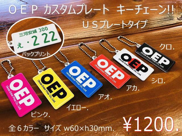 カスタムプレート キーチェーン 【税抜1200円】