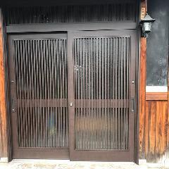 引き戸の取り替え 施工例