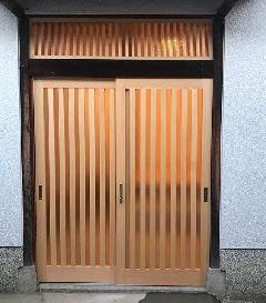 玄関、門扉、欄間 施工例