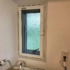 内開き式網戸取り付け 施工例