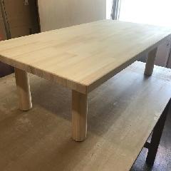 木製テーブル 製作
