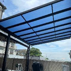 駐車場の屋根 施工例
