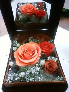 キャラメルバラのジュエリーボックス