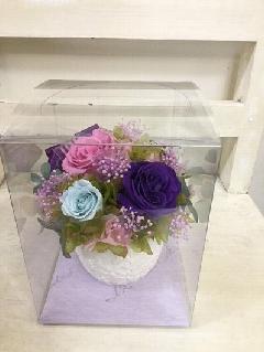 紫ばらのプリザ
